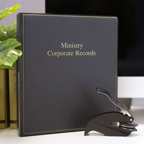 Ministry Corporate Records Kit™
